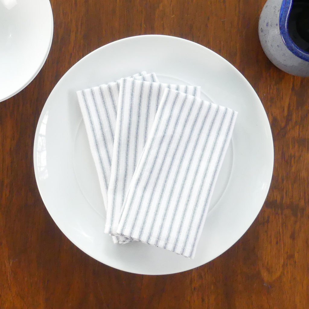 How To Make Cloth Napkins Indigo Spring Home Sewing Projects